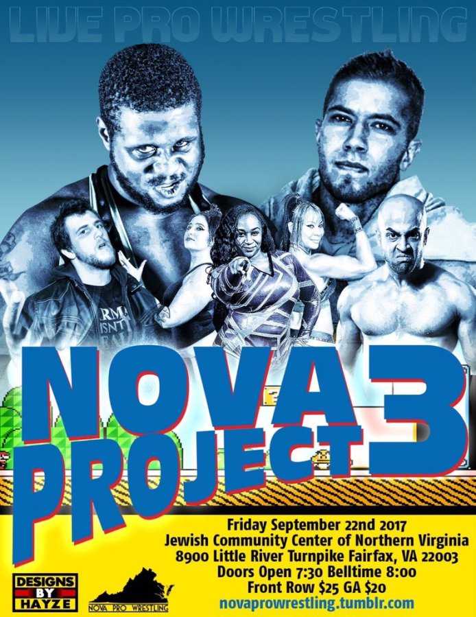 "NOVA Pro Wrestling presents ""NOVA Project 3"" Show Review"